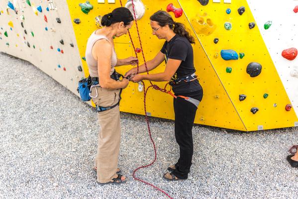 Klettergurt Toprope : Kletterkurs toprope alpenverein